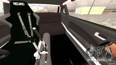 Nissan Silvia S15 Drift pour GTA 4 est une vue de dessous