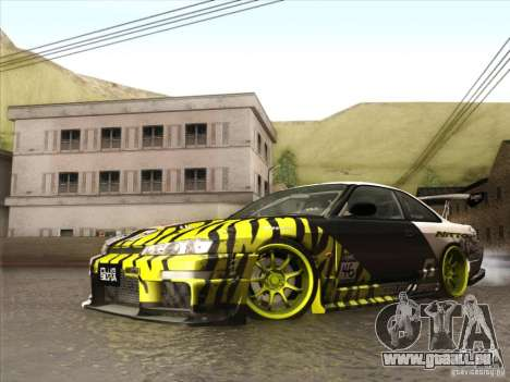 Nissan 200SX S14A für GTA San Andreas Innenansicht