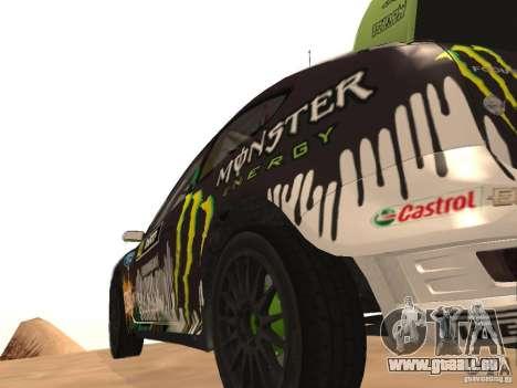 Ford Focus RS2000 v1.1 pour GTA San Andreas sur la vue arrière gauche