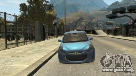 Hyundai IX20 2011 pour GTA 4 est une gauche