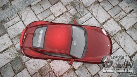 Porsche Cayman S v1 für GTA 4 obere Ansicht