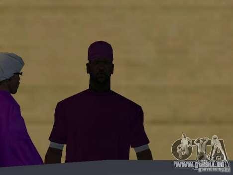 Neue Skins Ballas für GTA San Andreas siebten Screenshot