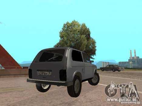VAZ 21214 Niva pour GTA San Andreas laissé vue