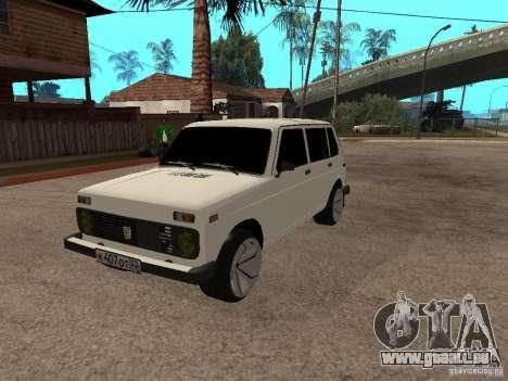 VAZ 2131 pour GTA San Andreas vue intérieure