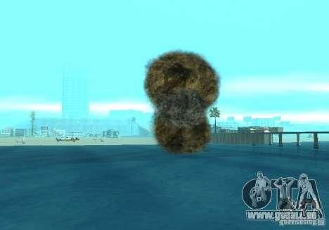 Neue Auswirkungen von Explosionen für GTA San Andreas zehnten Screenshot