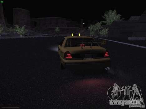 Ford Crown Victoria Taxi 2003 pour GTA San Andreas vue de dessous