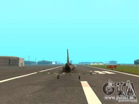 Saab JA-37 Viggen für GTA San Andreas Rückansicht