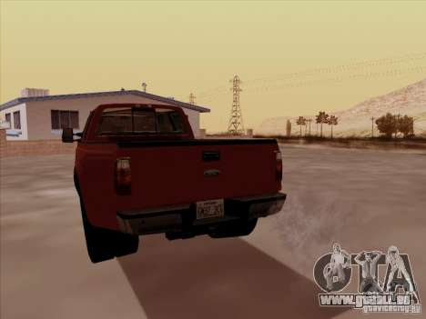 Ford  F350 Super Duty für GTA San Andreas rechten Ansicht