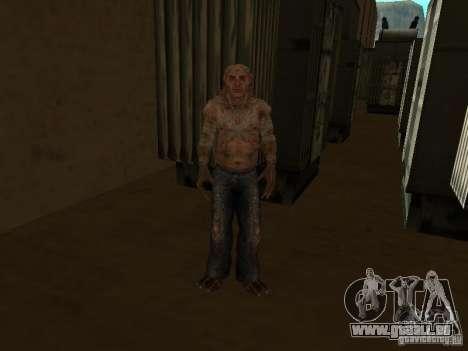 Contrôleur de S.T.A.L.K.E.R. pour GTA San Andreas deuxième écran