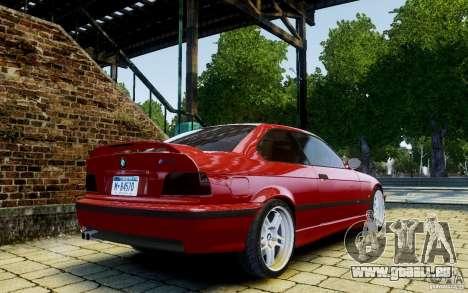 BMW M3 E36 v1.0 für GTA 4 Rückansicht