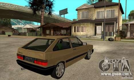 VW Gol GL 1.8 1989 pour GTA San Andreas vue de droite