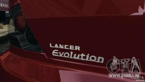 Mitsubishi Lancer Evolution 8 pour GTA 4 est un côté