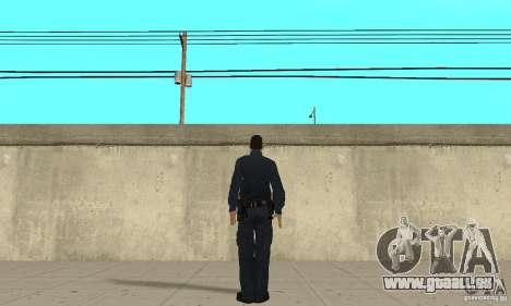 Un officier de police de GTA 4 pour GTA San Andreas troisième écran