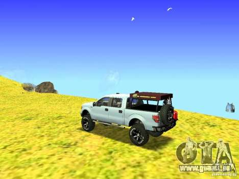 Ford F-150 Off Road für GTA San Andreas linke Ansicht