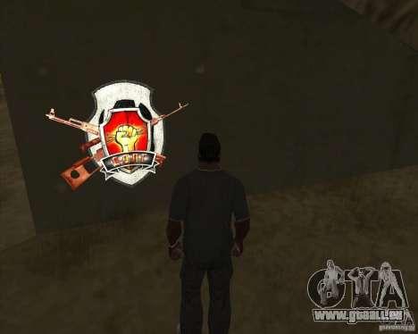 Graffiti stalkers für GTA San Andreas dritten Screenshot