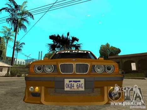 BMW e34 Drift Body pour GTA San Andreas vue de droite
