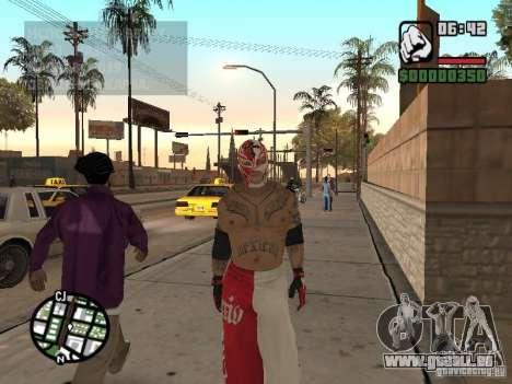 Rey Mysterio pour GTA San Andreas