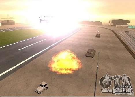 Neue Auswirkungen von Explosionen für GTA San Andreas her Screenshot