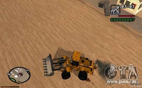 Tableau de bord actif 3.1 pour GTA San Andreas troisième écran
