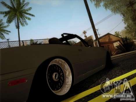 Mazda MX5 JDM pour GTA San Andreas laissé vue