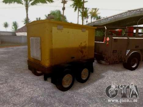 Trailer Generator pour GTA San Andreas vue de côté
