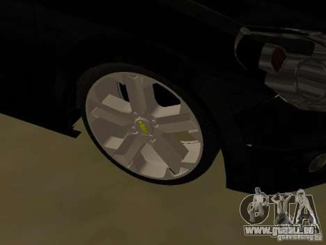 Chevrolet Vectra Elite 2.0 pour GTA San Andreas vue intérieure