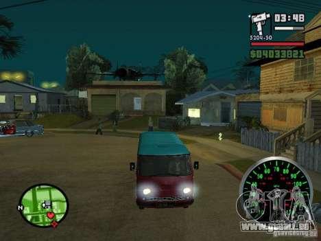 PLAYLIST 762 dans pour GTA San Andreas vue de côté