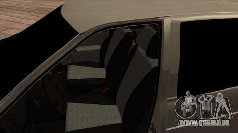 LADA Priora 2172 pour GTA San Andreas vue arrière