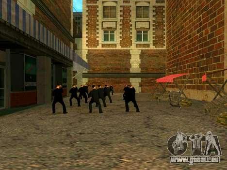 Training Vusi für GTA San Andreas dritten Screenshot