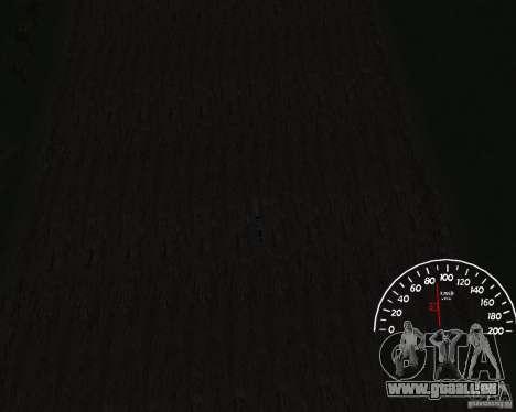 Compteur de vitesse 1.0 pour GTA San Andreas troisième écran
