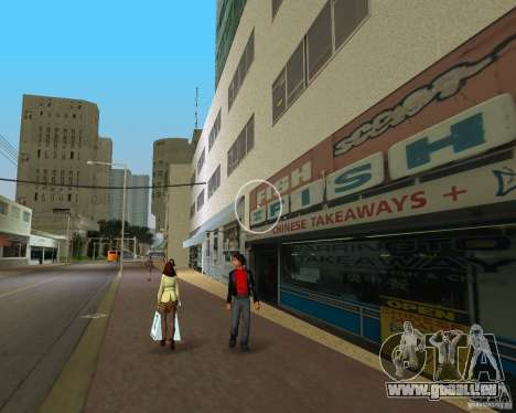 New Downtown: Shops and Buildings pour le quatrième écran GTA Vice City