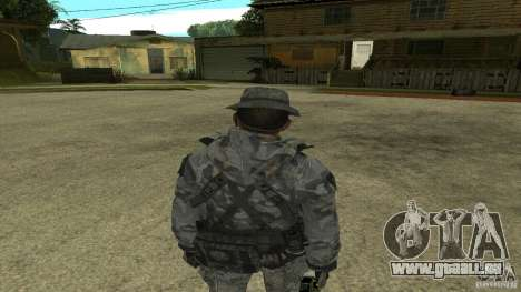 Captain Price für GTA San Andreas her Screenshot
