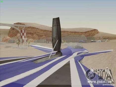 F-15 SMTD pour GTA San Andreas vue de côté