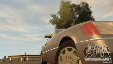 Mersedes-Benz 500SE Wheels 2 für GTA 4 Rückansicht