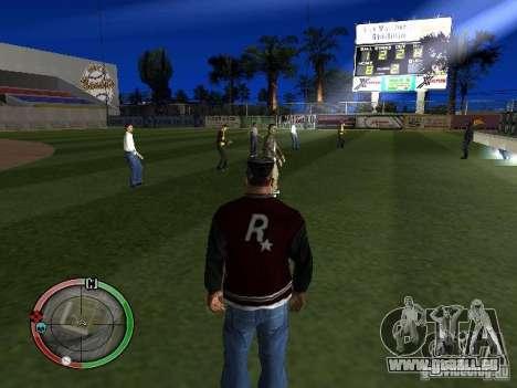Concert de l'AK-47 v2 pour GTA San Andreas troisième écran