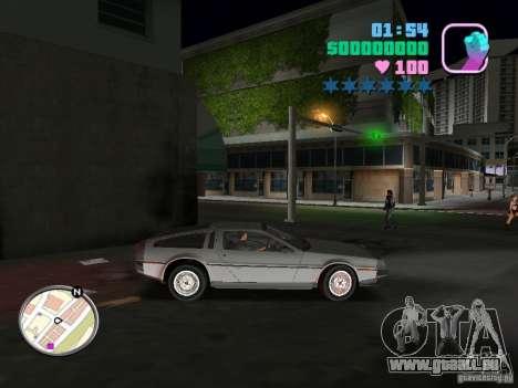 Delorean DMC-12 für GTA Vice City