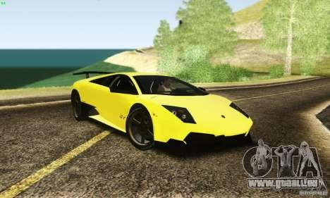 Lamborghini Murcielago LP 670-4 SV pour GTA San Andreas