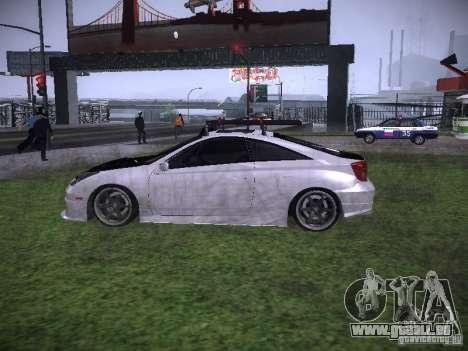 Toyota Celica für GTA San Andreas linke Ansicht