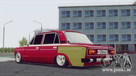 VAZ 2106 Hobo pour GTA San Andreas laissé vue