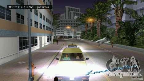 Reiten-Passagier für GTA Vice City dritte Screenshot