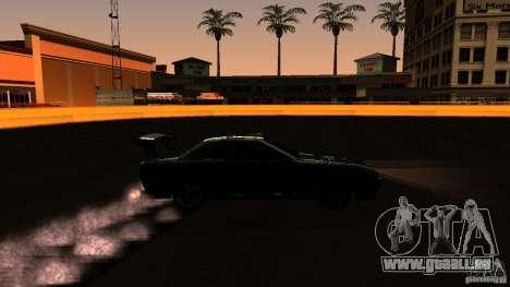 Elegy v0.2 pour GTA San Andreas vue arrière
