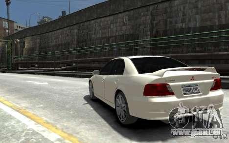 Mitsubishi Galant 8 VR-4 pour GTA 4 Vue arrière de la gauche