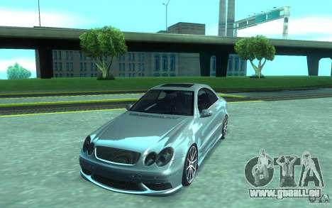 Mercedes-Benz CLK55 AMG für GTA San Andreas