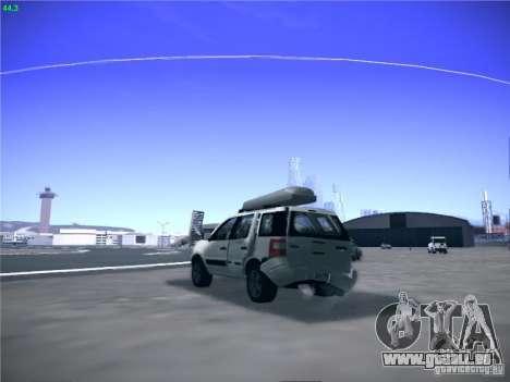 Ford EcoSport 2008 pour GTA San Andreas vue de droite