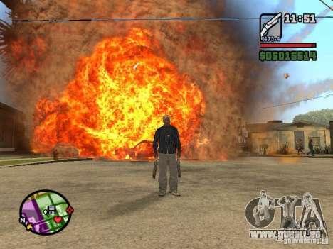Overdose effects V1.3 pour GTA San Andreas septième écran