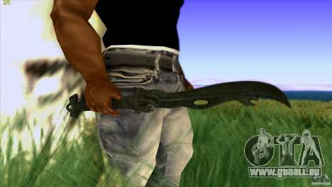 Chinese Knife from Far Cry 3 pour GTA San Andreas