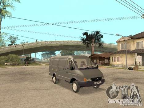 Gazelle 2705 en 1994. pour GTA San Andreas