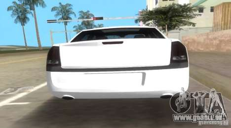 Chrysler 300C SRT V10 TT Black Revel 2011 für GTA Vice City zurück linke Ansicht