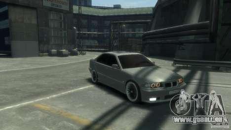 BMW 318i Light Tuning pour GTA 4 Vue arrière de la gauche