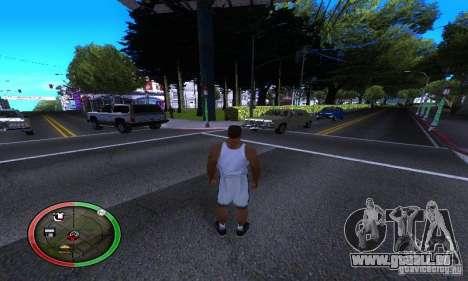 NEW STREET SF MOD pour GTA San Andreas quatrième écran